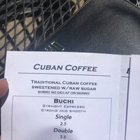 Photo taken at Buchi Cafe Cubano by Maria D. on 8/27/2017
