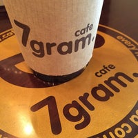 Photo taken at cafe 7gram by Jung S. on 4/11/2014