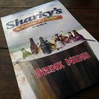 Photo taken at Sharky's Beachfront Restaurant by Austin M. on 10/5/2012