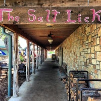 Photo taken at The Salt Lick by Steve J. on 4/22/2013