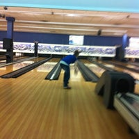 Photo taken at NEB's Fun World (North End Bowl) by Gillian on 8/7/2013