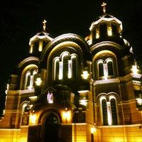 Photo taken at St Volodymyr's Cathedral by Yaroslav . on 5/3/2013