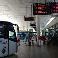 Photo taken at Lloret de Mar Bus Station by Stanislav K. on 7/22/2013