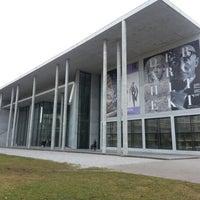 Photo taken at Pinakothek der Moderne by Jesus E. on 1/1/2013