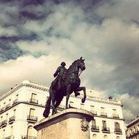 Foto tomada en Puerta del Sol por Juan Carlos el 2/10/2013
