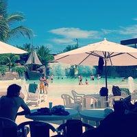 Photo taken at Nautico Praia Clube by NaNa Caê on 12/27/2012