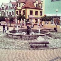 Photo taken at Tarnobrzeg Rynek by Krzysztof W. on 7/11/2013