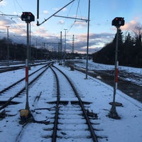Photo taken at Aachen West Station by Tommy B. on 2/15/2016