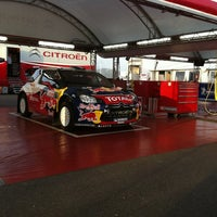 Photo taken at Rally di Sardegna - Service Park by Giovanni Maria S. on 10/20/2012