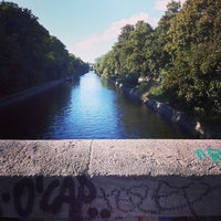 Photo taken at Paul-Lincke-Ufer by Sven K. on 9/29/2013