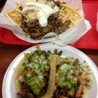 Photo taken at Roberto's Taco Shop by Annabel on 12/23/2012