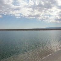 Photo taken at Laguna Cejar by Benjamin F. on 2/14/2013