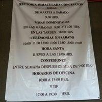 Photo taken at Parroquia de La Inmaculada Concepción by Carlos H. on 7/28/2013