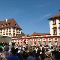 Photo taken at Ehrenhof am Alten Schloss by Andreas K. on 7/14/2013