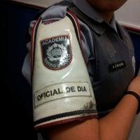 Photo taken at Academia de Polícia Militar do Barro Branco by Mariane O. on 11/17/2012