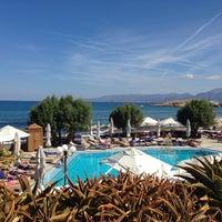 Photo taken at Creta Maris Beach Resort by Raya N. on 10/7/2013