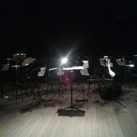 Photo taken at Teatro Funarte Plínio Marcos by Yrinna B. on 9/28/2012