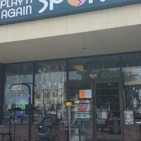 Photo taken at Play It Again Sports by TravisCountyChainGang on 5/7/2014