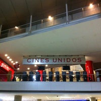Photo taken at Cines Unidos by Oliver R. on 11/7/2012