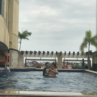 Photo taken at lama pool-vivere suites by Corazon Carmela on 3/26/2018