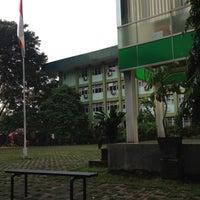 Photo taken at Universitas Nasional (UNAS) by Haritso on 4/26/2013