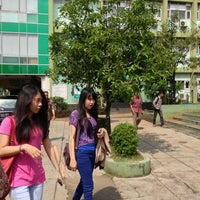 Photo taken at Universitas Nasional (UNAS) by Haritso on 6/7/2013