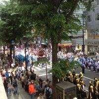 Photo taken at Dogenzaka by Masahiko I. on 5/19/2013