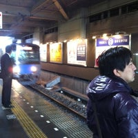 Photo taken at Tanashi Station (SS17) by Ethan W. on 11/17/2012