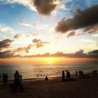Photo taken at Vanderbilt Beach by Diana G. on 6/10/2013