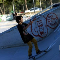 Photo taken at Skatepark by Andres Ruffo F. on 5/27/2014
