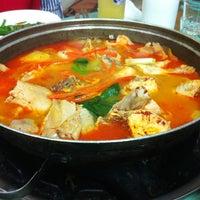 Photo taken at 닭 한마리 칼국수 by Hyuni L. on 6/24/2013