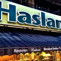 Photo taken at Restoran Haslam by Abdul Syahid S. on 10/18/2012