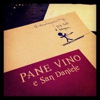 Foto scattata a Pane Vino e San Daniele da deadmanwriting il 11/17/2013
