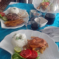 Photo taken at Restaurant La Sirena La Herradura by Hector U. on 3/2/2014