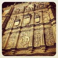 Photo taken at Fachada Universidad by Pablo P. on 11/3/2012