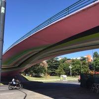 Photo taken at Abajo del Puente Av Figueroa Alcorta by Rasmus S. on 2/15/2016