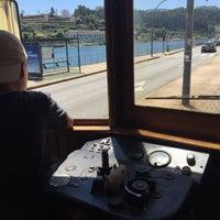 Photo taken at Porto City Tram Tour Line 1 by Rasmus S. on 7/3/2016