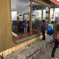 Photo taken at HSL 0099 Kauppatori (Suomenlinnan lautan terminaali) by Rasmus S. on 10/23/2016