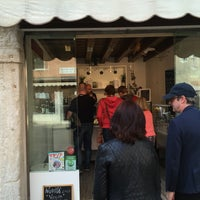 Photo taken at Gelateria Il Doge by Rasmus S. on 4/25/2017