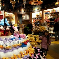 Photo taken at Disney store by Tomi on 12/2/2012