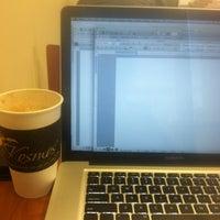 Photo taken at Kosmos Coffee Shop by Sarah H. on 2/19/2013