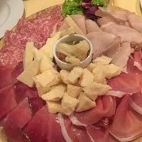 Photo taken at Bocconi Cafe' Ristorante Pizzeria Cocktail Bar by Batu on 1/23/2017