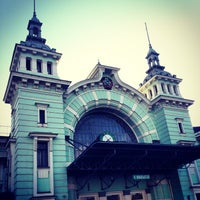 Photo taken at Belorussky Rail Terminal by Massimo on 6/3/2013