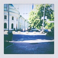 Photo taken at Рыбальская улица by Tetiana P. on 5/8/2014