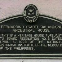Photo taken at Bernardino-Jalandoni House Museum by Karl M. on 9/30/2016