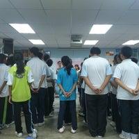 Photo taken at Sekolah Menengah Kebangsaan Seri Kembangan by Darren C. on 10/19/2013