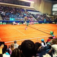 Photo taken at Daulet National Tennis Centre by Sergey F. on 2/2/2013