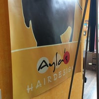 Photo taken at Ayla's Hairdesign by Axel F on 7/4/2014