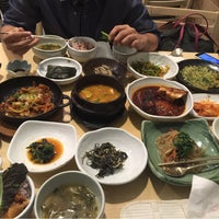 Photo taken at 고향맛 by Alexandra D. on 4/29/2016
