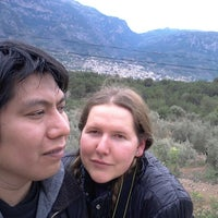 Photo taken at По Дороге В Soller by Miguel M. on 1/25/2014